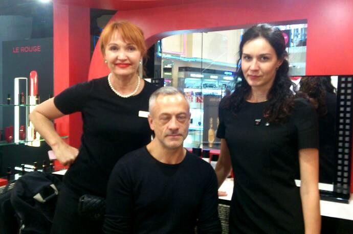 Проект по макияжу с арт-директором от компании Chanel